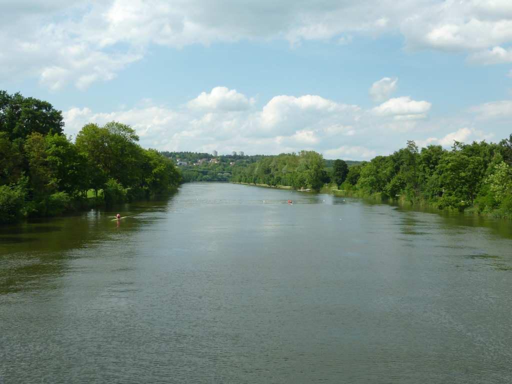 Die Donau wird immer breiter!