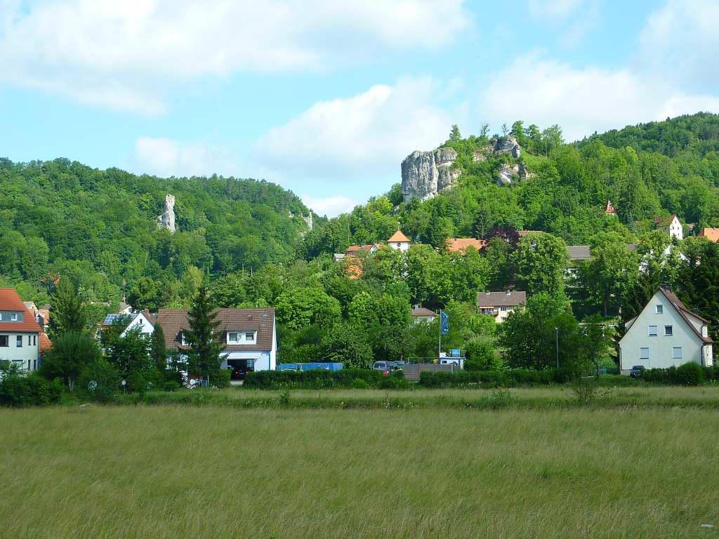 In der fränkischen Schweiz