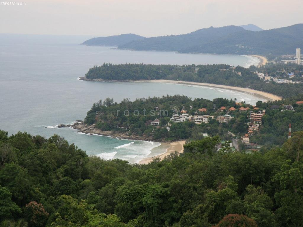 Thailand, Phuket - View Point (Kata Noi, Kata und Karon Beach)