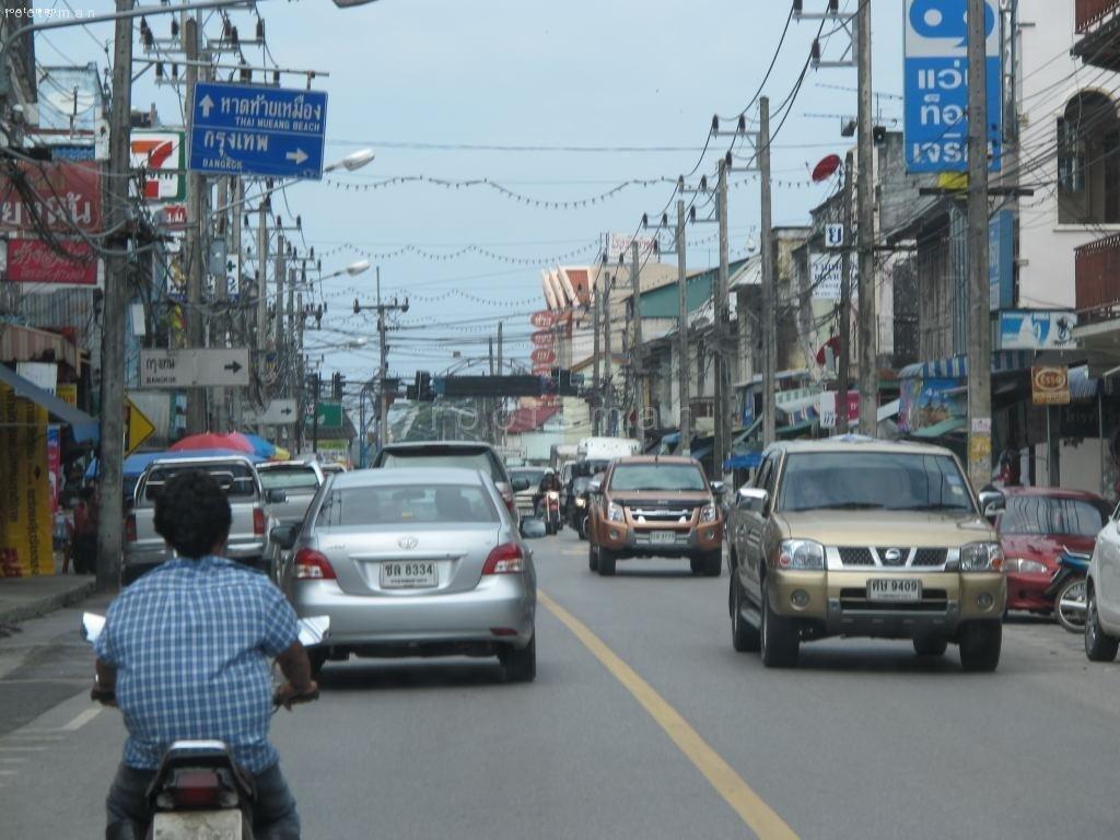 Thailand, Khao Lak - Busy Village