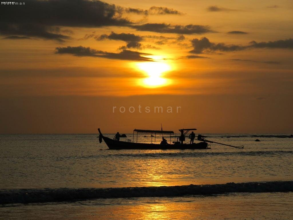 Thailand, Khao Lak - Sunset